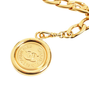 Vintage Chanel CC Two Coin Necklace/Belt.