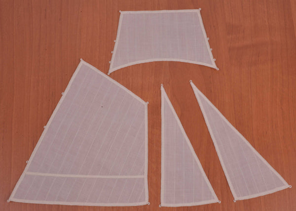 "Set of sails for Deck boat ""St. Gabriel"""