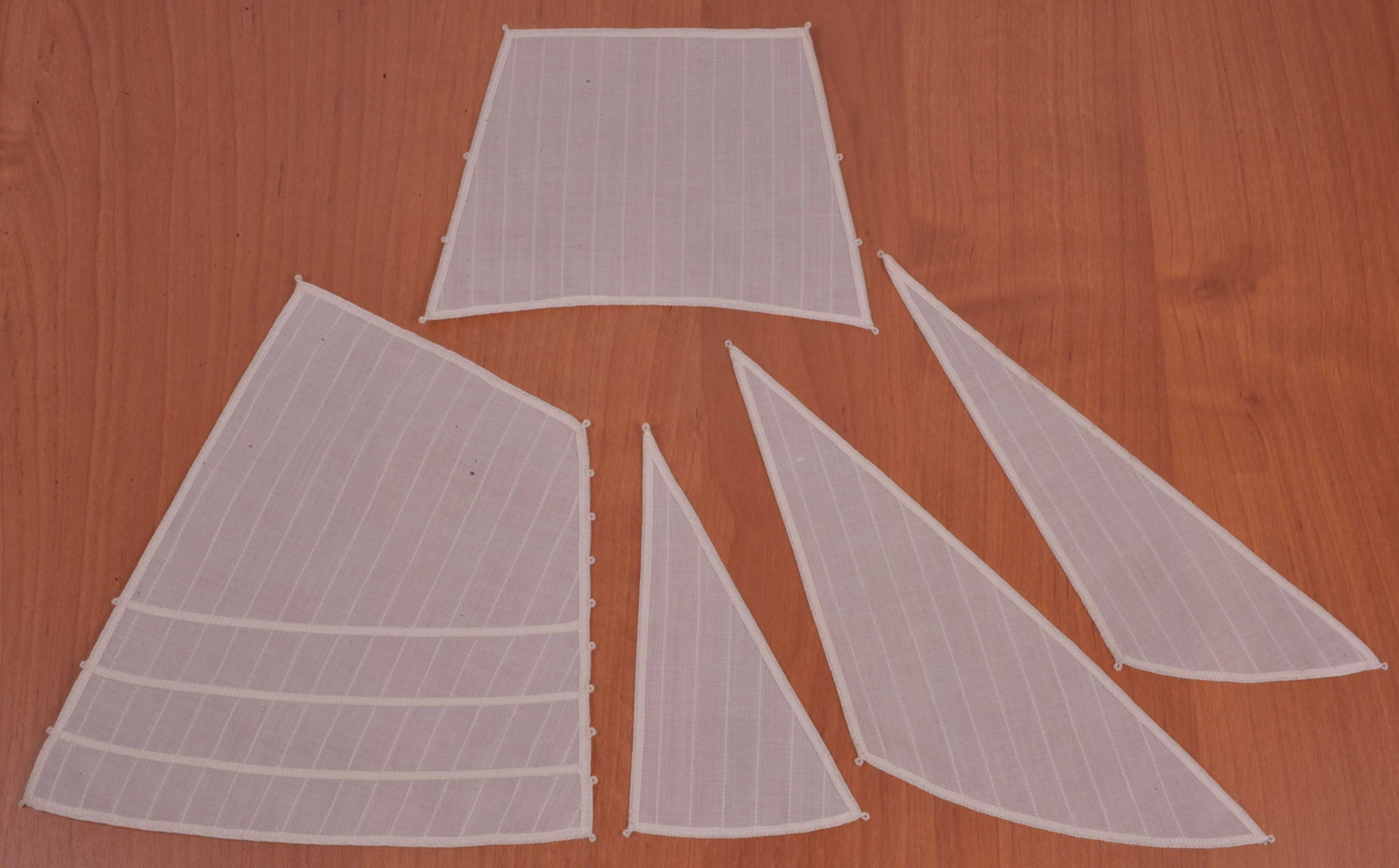 "Set of sails for Tender ""Avos"""