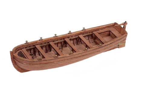 "Ship's Boat 95mm (3 3/4"") 1:72"