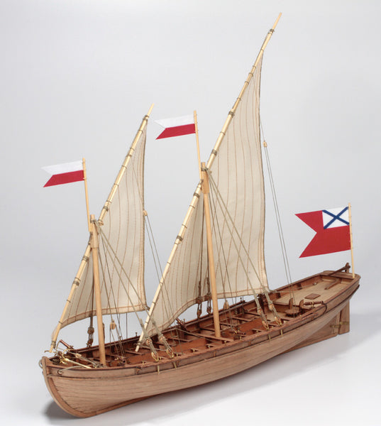 Double boat 1737 1:72