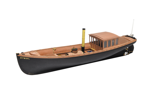 "Imperial steamboat ""Dagmar"" 1:48"