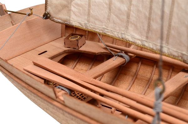 19th Century 4-Oar Yawl 1:24
