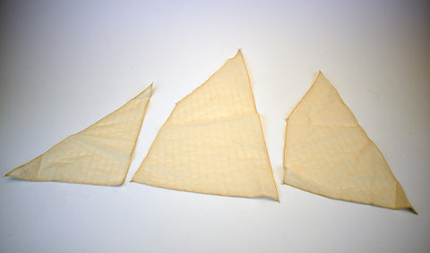 "Set of sails for Zulu ""Lady Isabella"" 1:64"