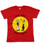 free city free sisters - Women's T Shirt