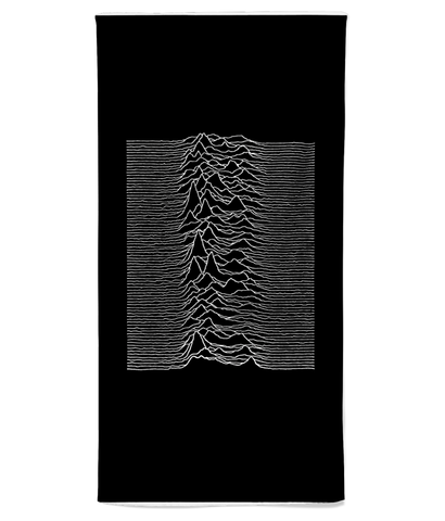 JOY DIVISION - UNKNOWN PLEASURES - Beach Towel