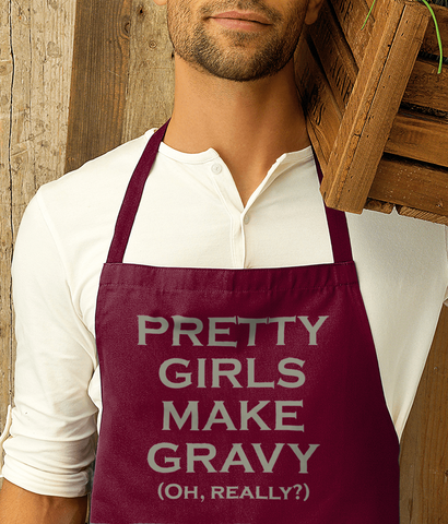 The Smiths - PRETTY GIRLS MAKE GRAVY (OH REALLY?) - Apron