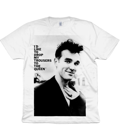 "The Smiths - ""I'D LIKE TO DROP MY TROUSERS TO THE QUEEN"" - 1985"
