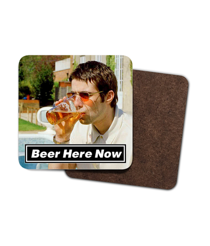 Beer Here Now - Coasters - 4 Pack