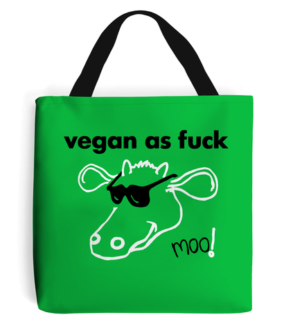 vegan as fuck - Shopping Bag