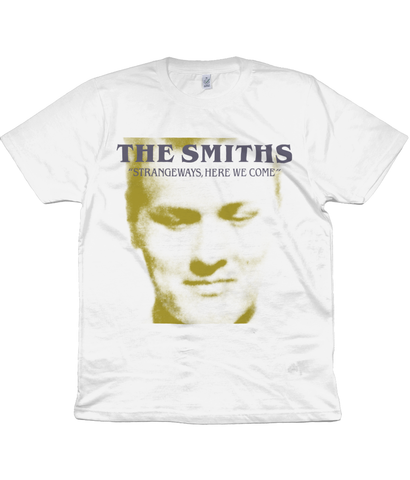 THE SMITHS - STRANGEWAYS, HERE WE COME - 1987 Promo - Gold & Grey