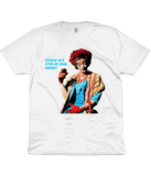 Mrs. Shufflewick - The Smiths - Panic - Lyric Shirt