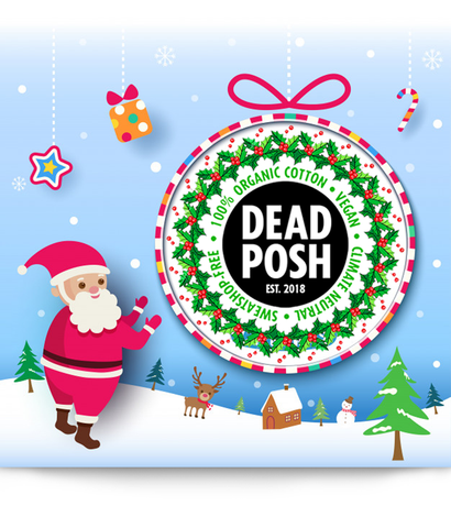 DEAD POSH Christmas Gift Card