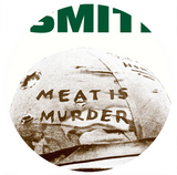 THE SMITHS - MEAT IS MURDER - Green Text