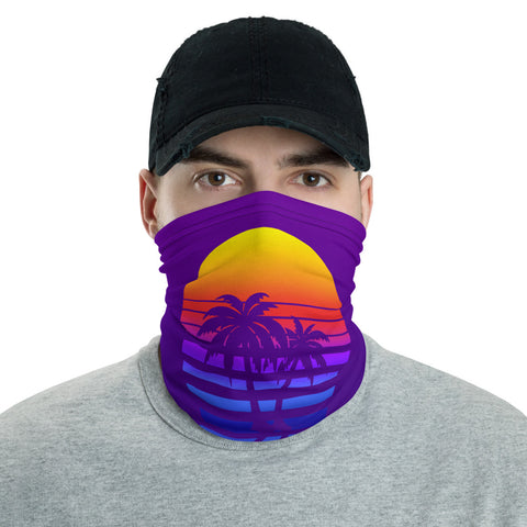 DEATH IS WORTH LIVING - Sunset - Face Mask & Neck Gaiter