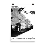 JOY DIVISION - SHIMMY - 1979 - UK Concert Poster