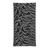 Joy Division - UNKNOWN PLEASURES - Full Print - Face Mask & Neck Gaiter
