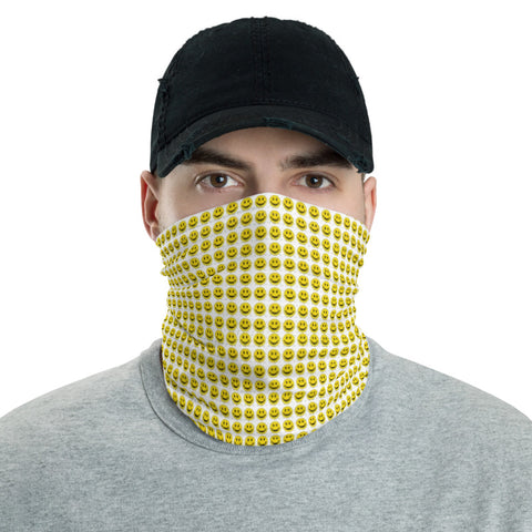 Smiley Acid Blotter - Face Mask & Neck Gaiter