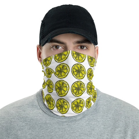 Lemons - Face Mask & Neck Gaiter