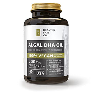 Vegan Algal DHA
