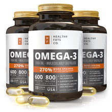 Load image into Gallery viewer, Omega 3 Fish Oil
