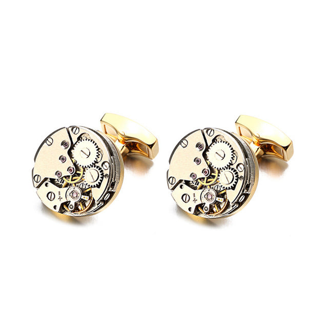 Sophisticated Watch Cufflinks