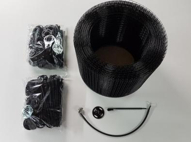 SOLAR PANEL BIRD PROOFING KIT BLACK 30M