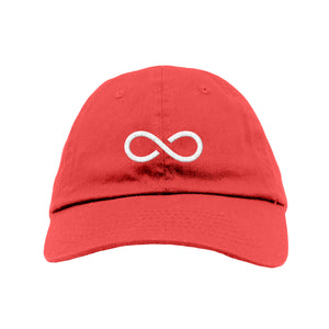 Infinity Dad Hat (Red)