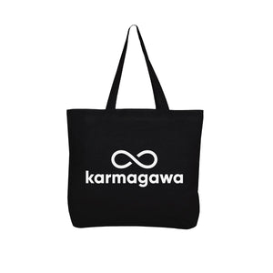 Karmagawa Tote Bag (Black)