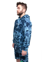 Load image into Gallery viewer, Save the Reef Ocean Dye Hoodie