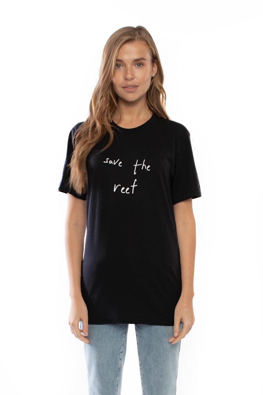 Save the Reef T-shirt (Black)