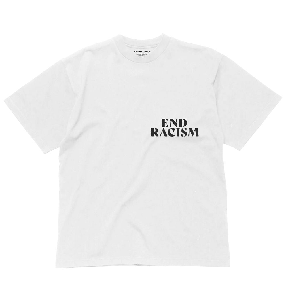 End Racism - Black Lives Matter T-Shirt (White)