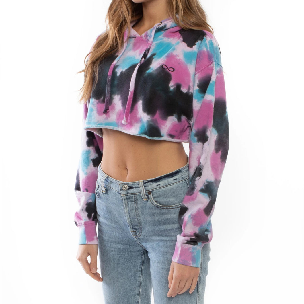 Save the Reef Crop Top Sweatshirt (Bubble Gum)