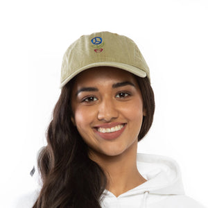 Save the Planet Dad Hat (Beige)