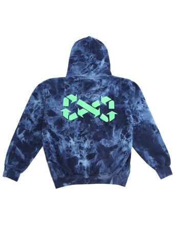 Save the Reef Tie Dye Hoodie