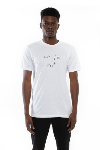 Save the Reef T-shirt (White)