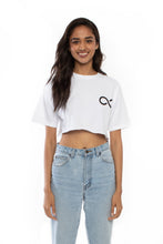 Load image into Gallery viewer, Karmagawa Crop Top (White)
