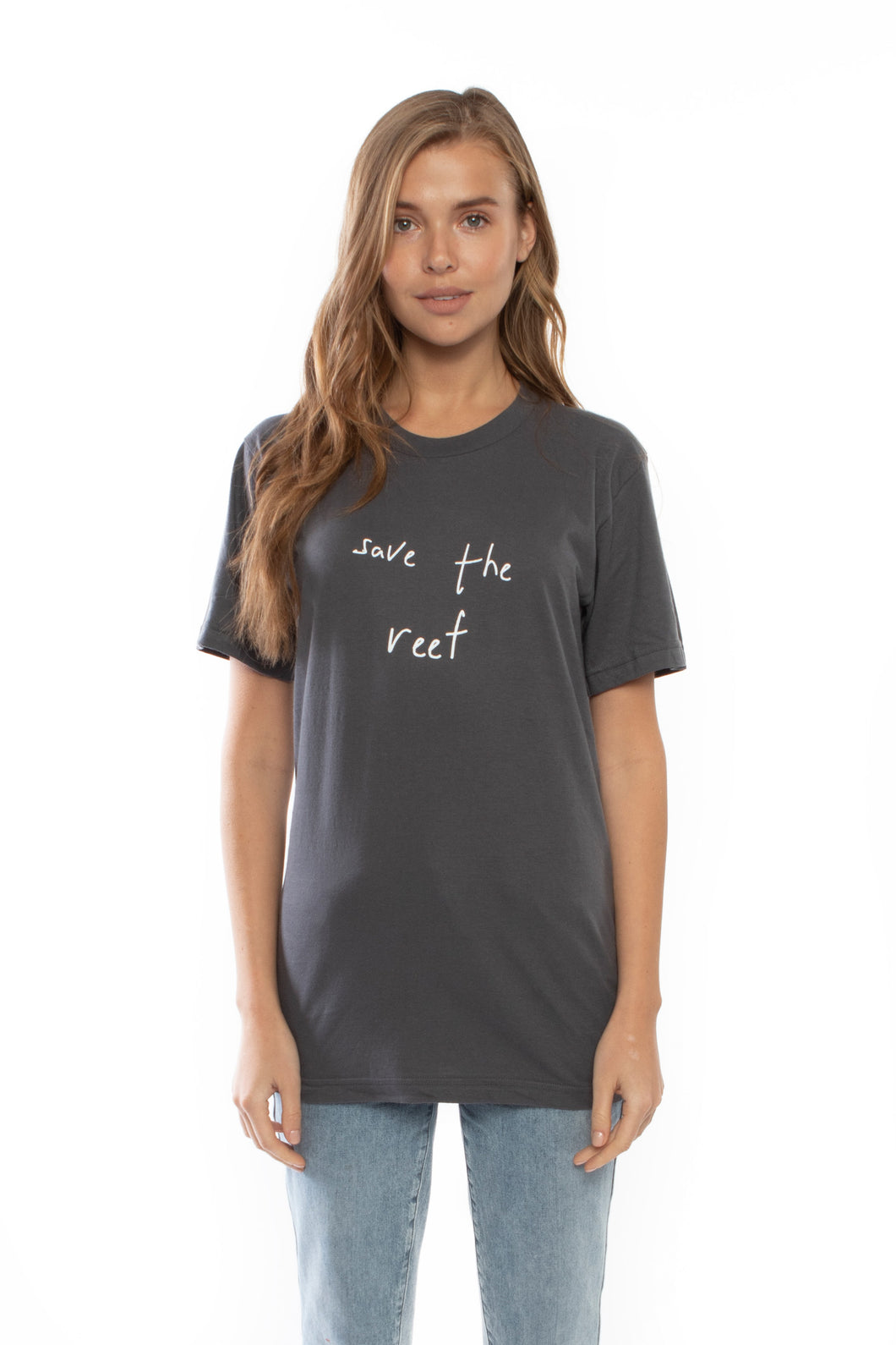 Save the Reef T-shirt (Grey)