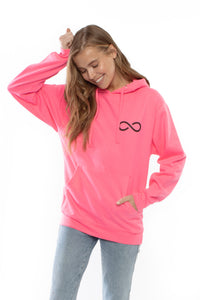 Classic Logo Hoodie (Neon Pink)
