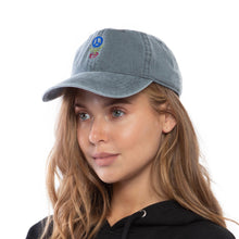 Load image into Gallery viewer, Save the Planet Dad Hat (Grey)