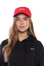 Load image into Gallery viewer, Infinity Dad Hat (Red)