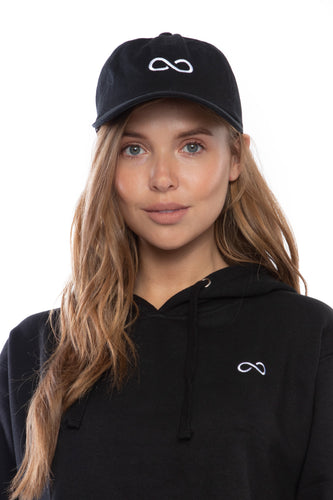 Infinity Dad Hat (Black)