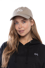 Load image into Gallery viewer, Infinity Dad Hat (Beige)
