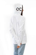 Load image into Gallery viewer, Infinity Logo Hoodie (White)