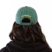 Load image into Gallery viewer, Save the Planet Dad Hat (Green)