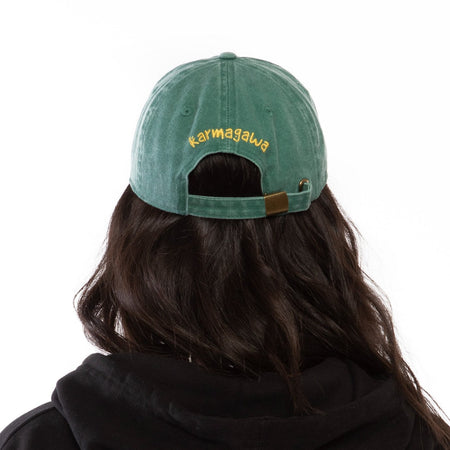 Save the Planet Dad Hat (Green)