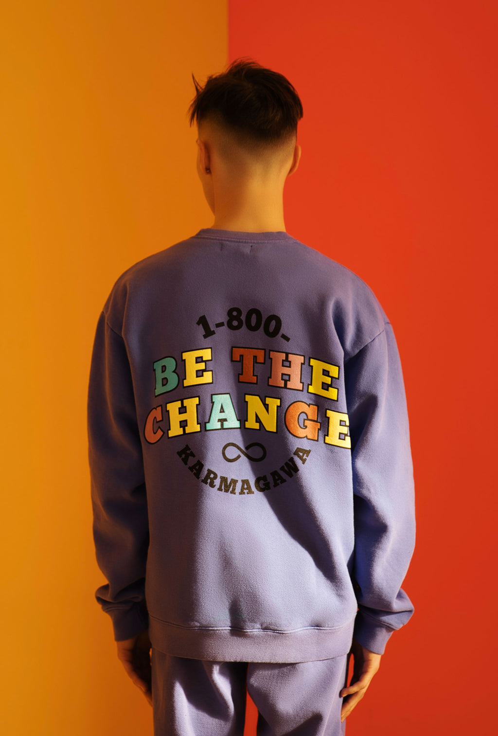 1-800-BE-THE-CHANGE Pullover