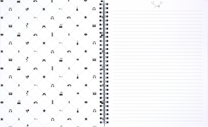 Lauren & Johnny 3-Pack Notebooks