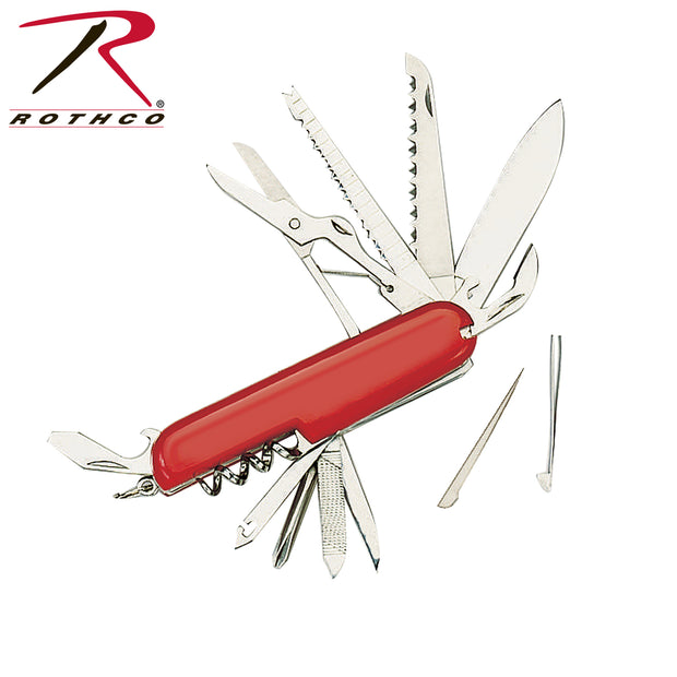 Swiss Army Type 11 Function Pocket Knife - BraveHeroes