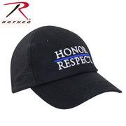 Thin Blue Line Honor and Respect Mesh Back Tactical Cap